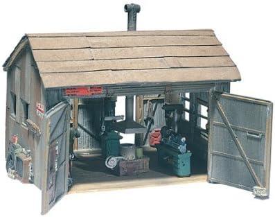 Woodland Scenics HO Scale Scenic Details Tucker Brothers Machine Shop