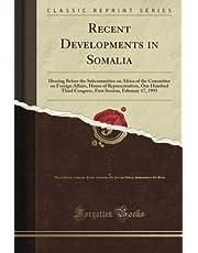 Recent Developments in Somalia