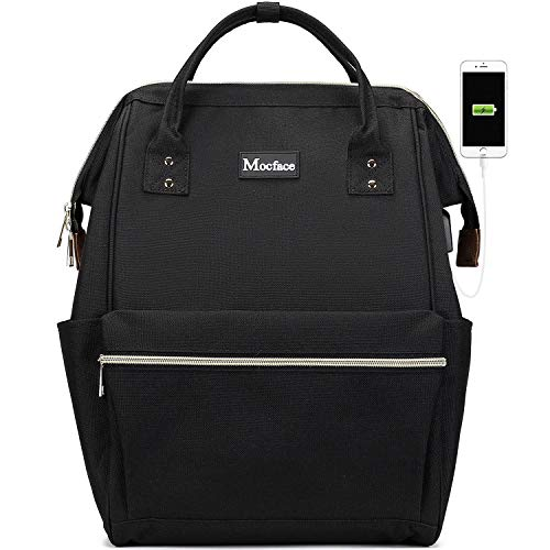 MOCFACE 15.6 Inch Stylish School Computer Backpack