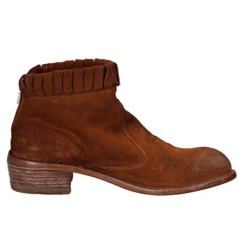 MOMA ,  Damen Niedrige Sneaker Braun