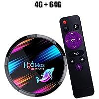 Coromose H96 MAX X3 TV Box Android 9.0 STB 4G RAM + 32GB / 64GB / 128GB ROM .4G / 5G WiFi BT4.0 1000M Media Player 4G+64G US Plug