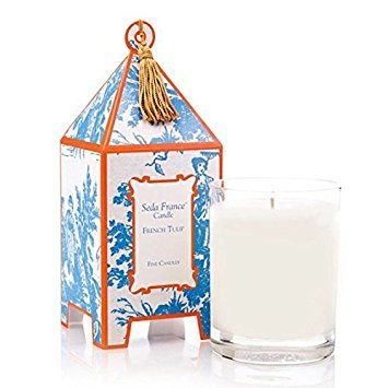 (Seda France Japanese French Tulip Candle - Luxury Designer Candles - Japanese Pagoda Candle)