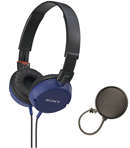 Sony MDRZX100 Stereo Headphones Oroview