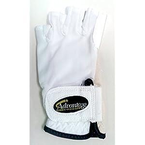 Advantage Tennis Glove Half Finger Left Womens S