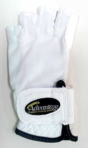 Advantage Tennis Glove Half Finger Left Womens S
