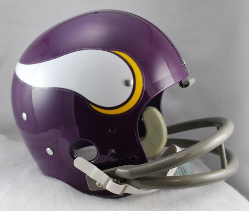 Riddell NFL Minnesota Vikings 1961-1979 Throwback Replica TK Suspension Full Size Football Helmet