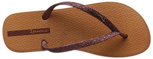 Flip Bronze Ipanema II Women's Brown Flop Glitter qSWztwT6