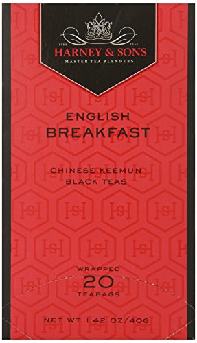 Sons English Breakfast Tea - Harney & Sons Black Tea, English Breakfast, 20 Tea Bags