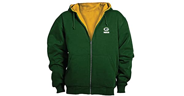 Amazon.com: NFL Green Bay Packers Sudadera Térmica con ...