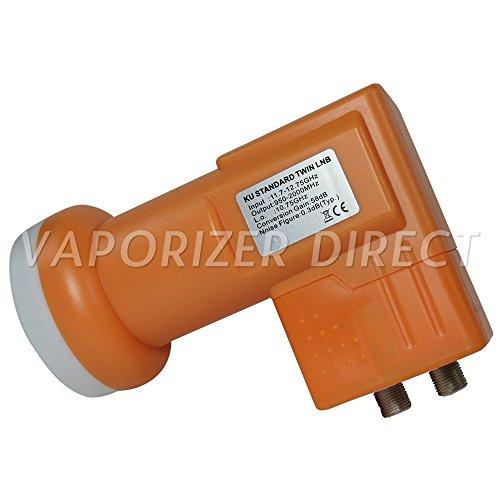 NEXspark Standard Linear OEM LNB Ku Band Dual Twin FTA Satellite Dish 9750 950-2150MHz 58dB Gain