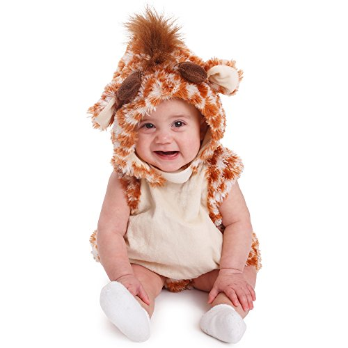 Dress Up America Giraffe Baby Costume infant Halloween costume ()