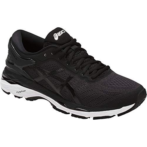 ASICS Womens Gel-Kayano 24 Running Shoe Black/Phantom/White 7.5 Medium ()