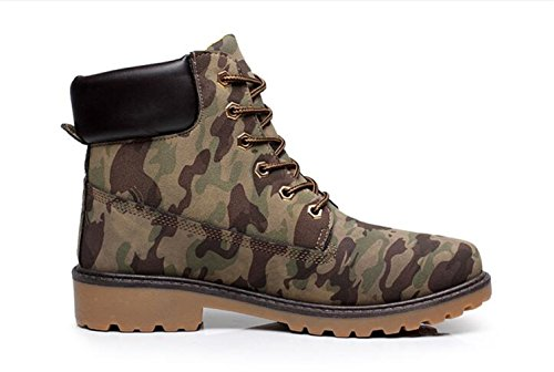 up Mix Fashion PPXID Work Color�ꡧwith Martin Shoes Men's Boots fur Lace Ankle B6waqt
