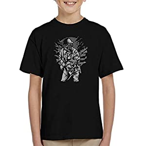 Steampunk Style Soldier Kid's T-Shirt