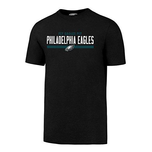 NFL Philadelphia Eagles Men's OTS Rival Tee, XX-Large, Jet Black