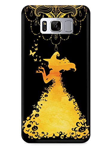 - Inspired Cases - 3D Textured Galaxy S9 Plus Case - Protective Phone Cover - Rubber Bumper Cover - Case for Samsung Galaxy S9 Plus - Princess Witch - Chandelier - Black Case