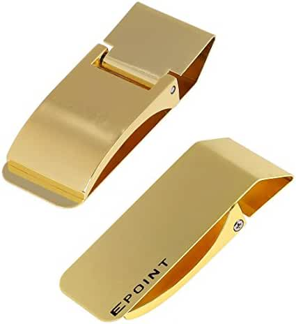 EQA03 Whole Sale Stainless Steel Money Clip Card Holder Fitness Fabric By Epoint