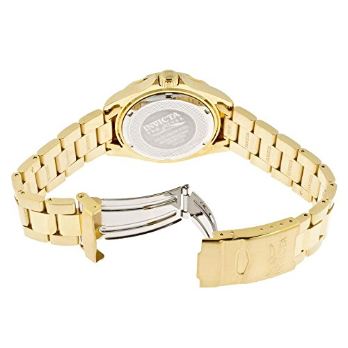 Invicta Men's 14124 Pro Diver Gold Dial 18k Gold Ion-Plated Stainless Steel Watch by Invicta (Image #2)
