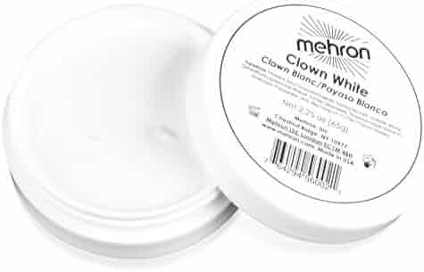 Mehron Makeup - Clown White Face Paint, 2.25 oz