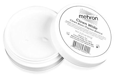 Mehron Makeup - Clown White Face Paint, 2.25 oz (Cheap Special Effects Makeup)