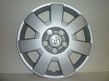 Juego de Tapacubos 4 Corpicerchio Diseño Toyota Avensis r 16 () Logo Cromado: Amazon.es: Coche y moto