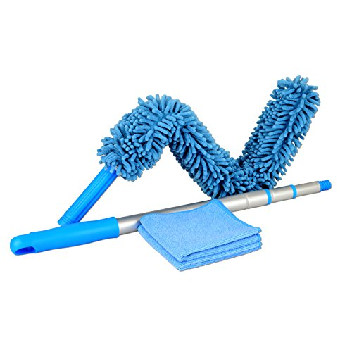 Chenille Microfiber High Duster | Flexible Dusting Wand | Machine Washable