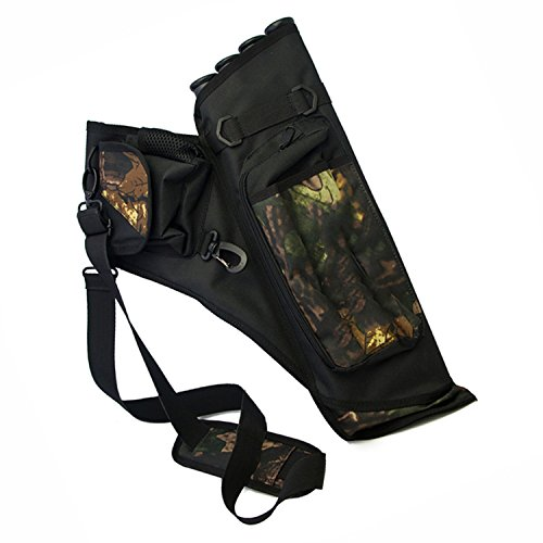 Hunting Archery Quiver Compound Bow Arrow 4 Tubes Bag Case Can Holds About 24pcs Arrows The And Be Splited