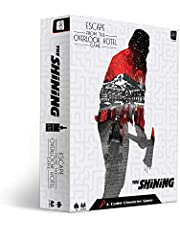 USAOPOLY The Shining: Escape from The Overlook Hotel - A Coded Chronicles Game, Escape Room for Horror Fans, Featuring The Shining Characters, Officially Licensed Escape Room Game