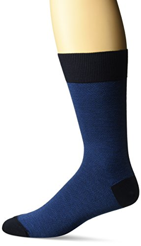 Zanella Socks Men's Z9011, Navy/Royal, 10-13