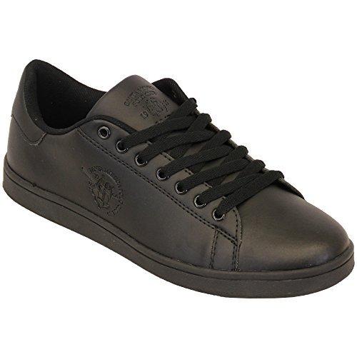 Zapatillas Hombre Santa Monica Polo Club Zapatos Cordones ...
