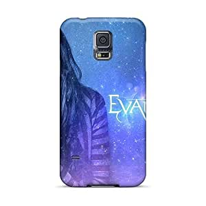 Shockproof Hard Phone Cases For Samsung Galaxy S5 With Unique Design High-definition Evanescence Band Image MarieFrancePitre