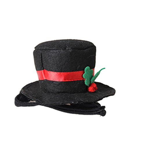 Halloween Hat Ideas (Cat Top Hat Pet Dog Cat Halloween Costumes for Party Christmas Special Events Hat 1#)