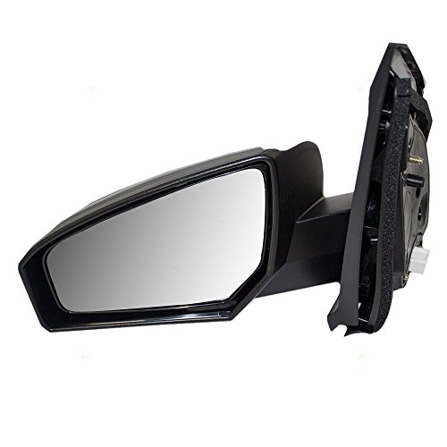 Power Side View Mirror Ready-to-Paint Driver Replacement for 07-12 Nissan Sentra 96302ET01E