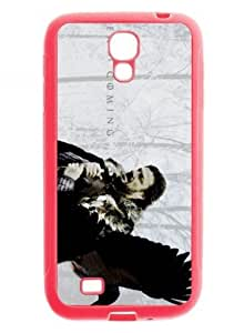 Game of Thrones TV Show Case Cover for Samsung Galaxy S4 I9500 (TPU,Pink)