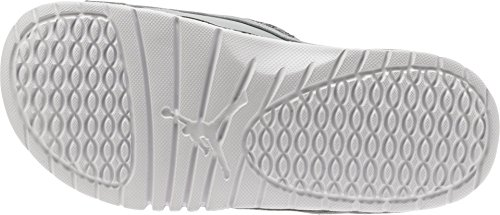 NIKE Air Jordan Hydro 13 XIII Sandal Slide White/Red Metallic Silver/Grey discount best sale free shipping looking for from china cheap price outlet limited edition KuYTqZYL