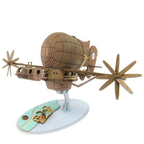 1/300 Studio Ghibli series Laputa: Castle in the Sky Tiger Moth MK07-17 (Paper Craft) Sankei