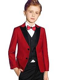 ELPA Boys Suit Tuxedo Children's Formal Costume Slim Suits Set Kids to Teen