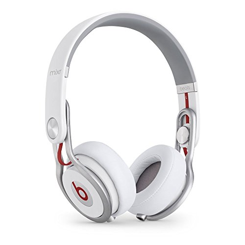 (Beats Mixr On-Ear Headphone - White (Renewed))