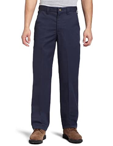 Carhartt Men's Blended Twill Work Chino,Navy,34 x 36