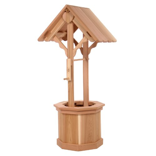 All Things Cedar 45 Wishing Well Planter