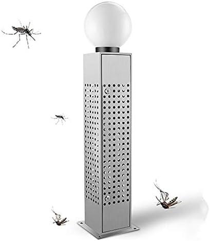 Solarbetriebene wasserdichte LED Moskito Killer Lampe, Multifunktionaler Elektrischer Insekten Zapper für Den Außenbereich, Tötet Effektiv Alle Arten Fliegender Insekten Auf Dem Gartencampus