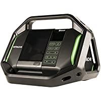 Hitachi UR18DSALP4 Cordless 18-Volt Lithium-Ion Bluetooth Radio with USB Charger and Alarm (Radio Only, No 18-Volt Battery)