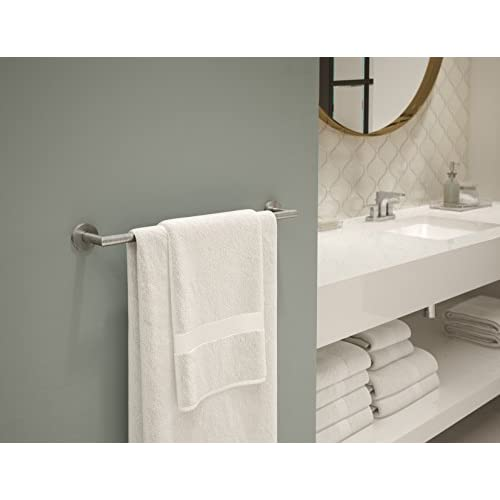 free shipping Symmons 673TB-STN-18 Identity 18 In. Towel bar,,, Satin Nickel