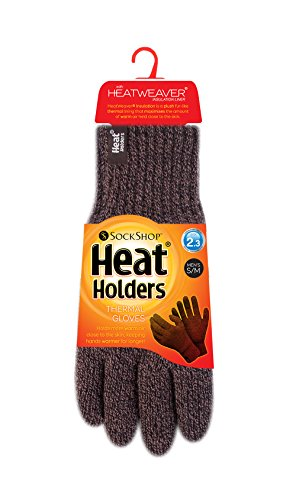 Heat Holders - Mens Thermal Heat Weaver Knitted 2.3 Tog Winter Gloves