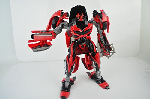 [New Transformer 4 The Stinger Transformers Lot Action Figures With Box] (Arcee Prime Costume)
