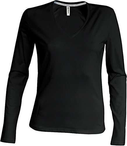 Kariban - Camiseta - para hombre negro