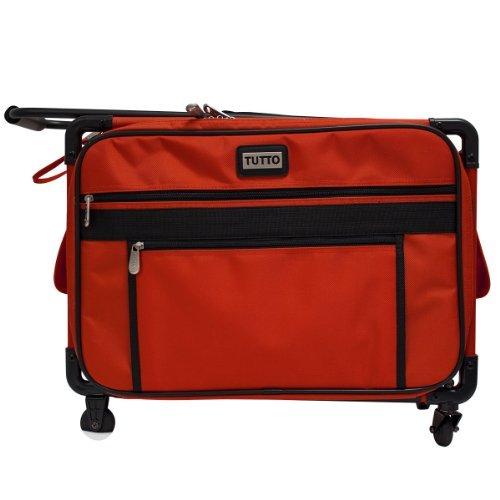 Tutto Machine on Wheels - Red Medium 19''L x 13''H x 10''D by Tutto