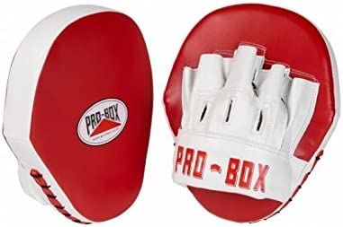 Pro Box Boxing Focus Mitts Speed Pads PU Club Essential Blue