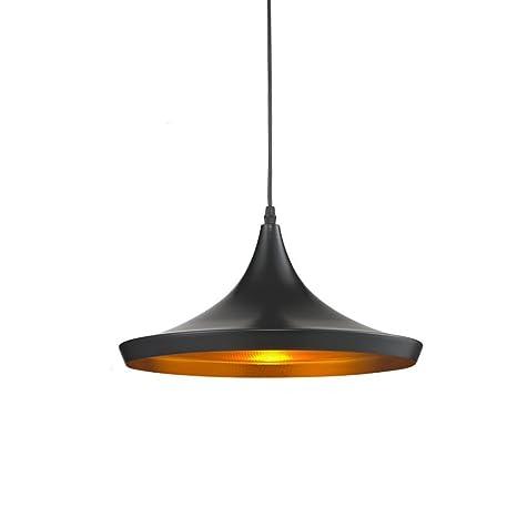 Lightess Lámpara Vintage Lámpara Industrial Lámpara Colgante Lámpara de Techo Lámpara Moderna Lámpara Retro, Cable Longitud 120cm, Tamaño Grande