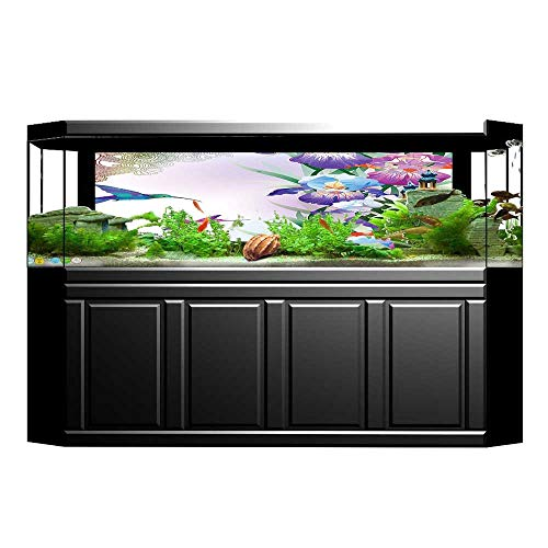 UHOO2018 Fish Tank Background Bluebirds French Vintage for sale  Delivered anywhere in Canada